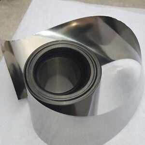 Titanium foil 100 x 300 x 0.1mm 99.9% purity