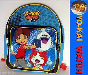 youkai yokai watch cartoon anime school backpack bag featuring nat