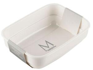 Mikasa-M-par-Blanc-Porcelaine-The-Sac-Condiment-Caddie-Buffet-Service-de-Plat