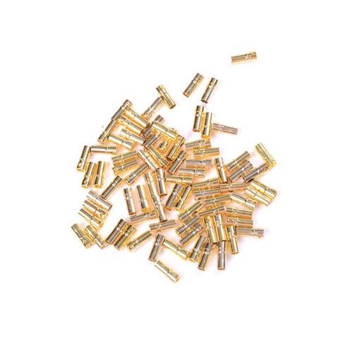 20x RC 3,5 mm Gold-Kugel Bananen-Stecker für ESC-Batterie Motor  CN