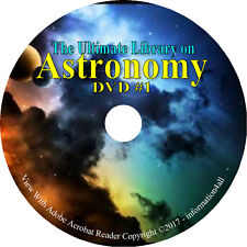 220 Rare Books on DVD ULTIMATE Library on Astronomy, Telescope Stars Astronomer