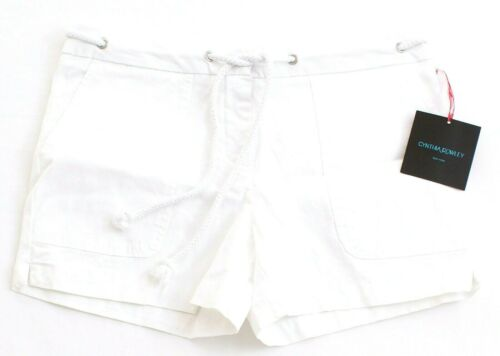 Cynthia Rowley White Casual Shorts with Rope Belt Women/'s NWT