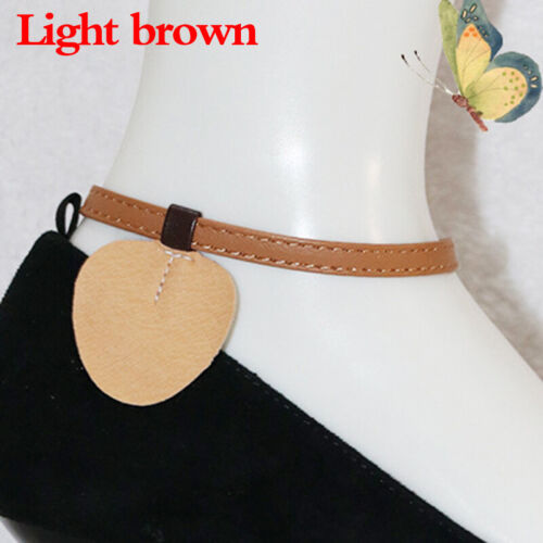 Accessories Shoelaces High Heels Adjustable Chains Leather Strap Solid 1 Pair
