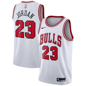 lowest price 7b814 7258c Details about Brand New Nike NBA Chicago Bulls Association Michael Jordan  #23 Swingman Jersey