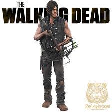 "DARYL DIXON - Walking Dead TV McFarlane Color Tops 7"" Action Figure - RED WAVE"