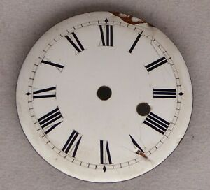 Verge pocket watch dial, front wind, fair condition, 42.34 mm.