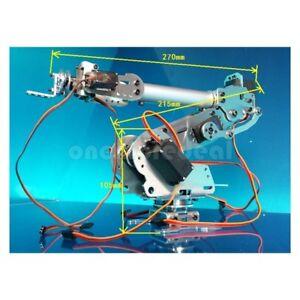 Details about 6 Axis Robot Arm Mechanical Robot Arm Industrial Robot Arm  Free Manipulator sz