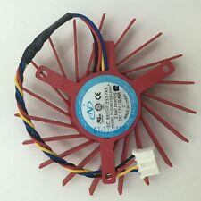 1pcs 45mm Zotac ATI NVIDIA Video Card Fan 39mm 4Pin PLD05010S12L 0.10A #M350 QL