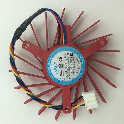 85mm ASUS GTX 460 560 HD 6790 6870 Fan 39mm 4Pin T129215SU 12V 0.50A #M762 QL