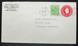 US-Uprated-Postal-Stationery-Cover-Napa-Washington-Stamp-GS-Rnd-USA-Brief-H-7754