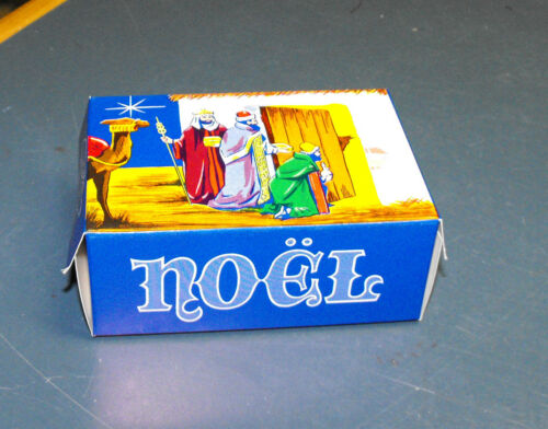 ANTIQUE VINTAGE 1940/'s CHRISTMAS CANDY BOX THREE WISE MEN