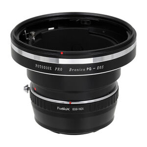 Fotodiox-Pro-Combo-Lens-Adapter-Bronica-GS-1-PG-Lens-to-Sony-E-Mount-NEX