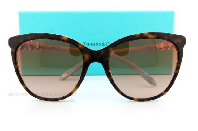 1b5c9f5834bd Brand New Tiffany   Co. Sunglasses 4131B 8134 3B Havana Brown Gradient Women