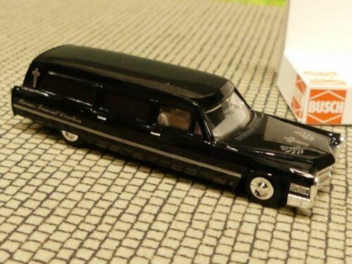 1//87 Busch Cadillac Station Wagon Bestattungswagen USA 42905