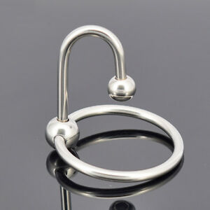 Stainless-Steel-Cock-Head-Ring-Urethral-Plug-Delay-E-jaculation-Male-Men-Fun-Toy