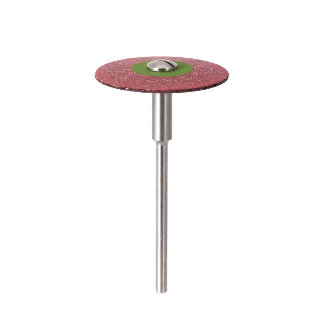 Dental Rubber Diamond Polisher Wheel Disc for Porcelain 26mm HP Super Coarse
