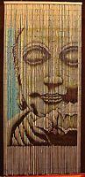 Bamboo Beaded Curtain Buddha Doorway Room Divider 90 Strands Nt/bb-01