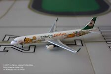 Aeroclassics Eva Air Airbus A321 Gudetama Color Sharklet Diecast Model 1:400
