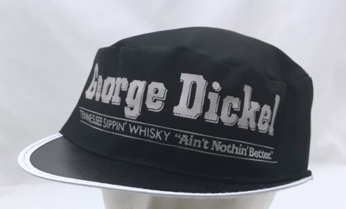 Vintage George Dickel Tennessee Whisky Painter Hat Cap Hollow Tullahoma 80s 90s