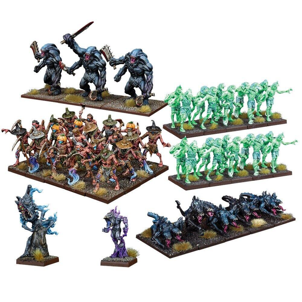 Mantic Games Kings of  War EntièreHommest neuf dans sa boîte Nightstalker armée mgkwns 101  centre commercial de la mode