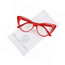 98feb9d49d item 5 ShadyVEU - Super Cat Eye Vintage Inspired Fashion Mod Clear Lens  Sunglasses -ShadyVEU - Super Cat Eye Vintage Inspired Fashion Mod Clear Lens  ...