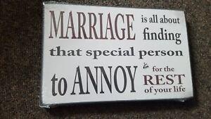 marriage-plaque