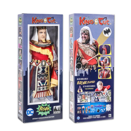 environ 20.32 cm Batman Classic TV Series Boxed 8 in King Tut action figures