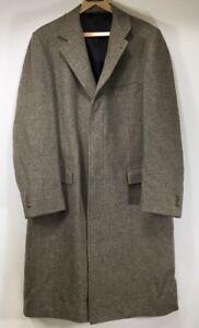 """Herringbone 44l Tweed King 44l Geventileerde Vented Zero Tweed Mens Overcoat Herenjas Wool Visgraat Vtg Wol """"mint"""" King Beige Size Zero Beige Maat Vtg xcRaAWnqAw"""