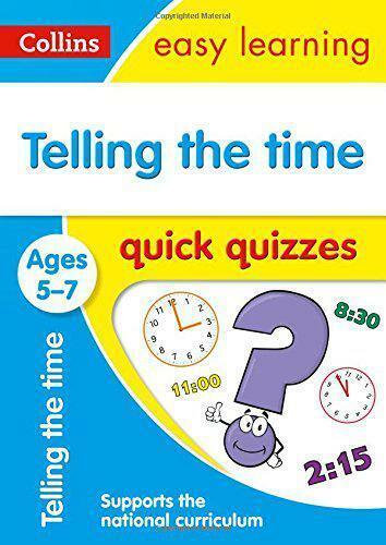 En Disant The Time Rapide Jeux-Questionnaires Âges 5-7 (Collins Facile Learning