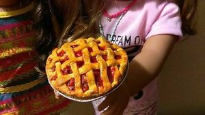 """Our Generation Toys 5+ 18/"""" Doll Food CHERRY PIE fits American Girl Dolls"""