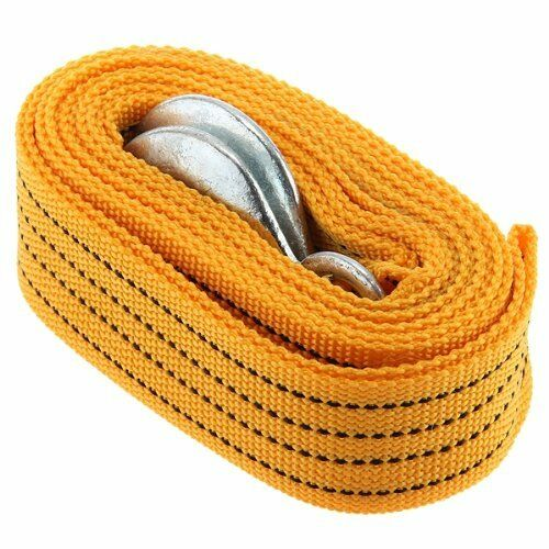 Cable Car Tow Rope with Hooks 3m 3000KG Buckle CT I6F3 N0J3 G4Y4
