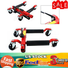 2t 4400lbs Hydraulic Positioning Car Wheel Dolly Jack Lift Hoists Moving Vehicle