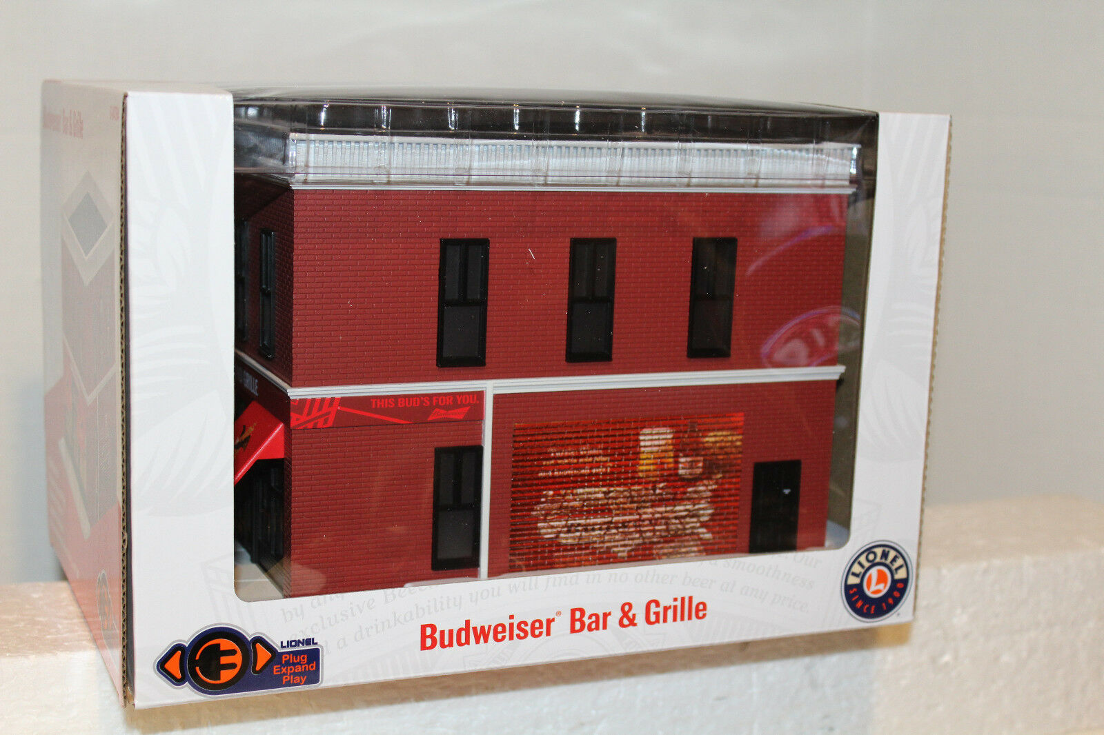 LIONEL  84794 BUDWEISER BAR & GRILLE ANHEUSERautobusCH