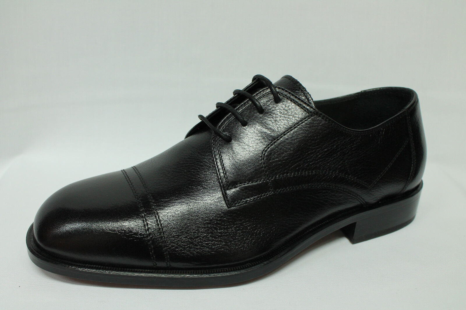 alta qualità generale Scarpe stringate stringate stringate eleganti classiche Valleverde 14841 pelle nera  Sconto del 70%