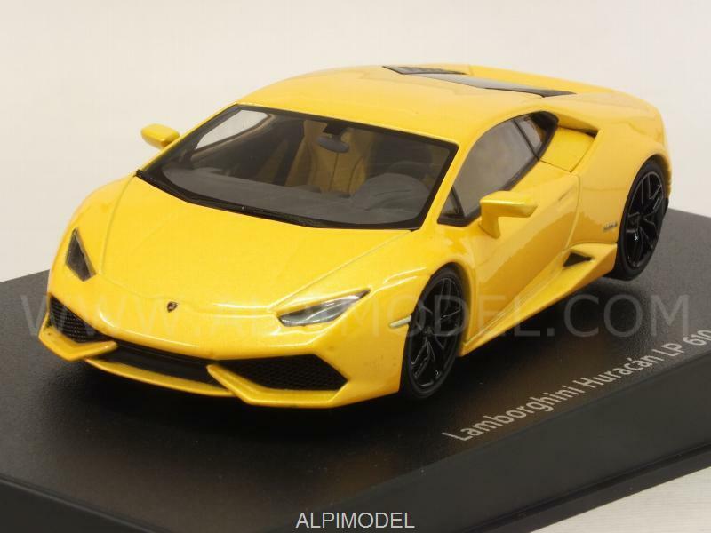 Lamborghini Huracan LP610-4 jaune Midas pearl Effect 1 43 AUTO ART 54603
