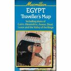 Egypt Traveller's Map by Macmillan Education (Sheet map, folded, 1996)
