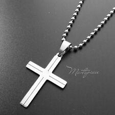 Titanium Steel Cross pendant necklace - S