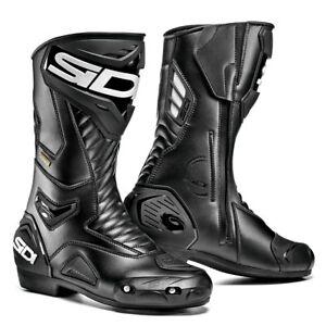 Sidi-Performer-Gore-Tex-Motorcycle-boots-Black