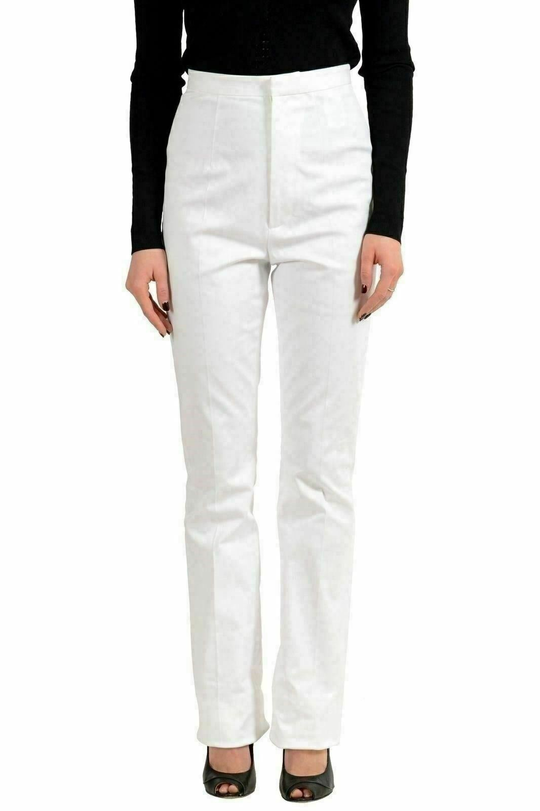 Dsquared2 White Women's Casual Pants US XS IT 38