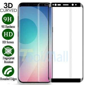 Full Cover Tempered Glass Screen Protector For Samsung Galaxy S7 Edge S8 S9 Plus