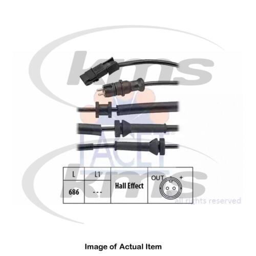 New Genuine FACET ABS Anti Lock Brake Wheel Speed Sensor 21.0157 Top Quality