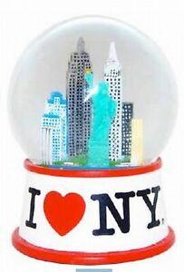 New-York-grosse-Schneekugel-Spieluhr-Souvenir-Freiheitsstatue-Empire