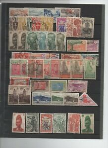 France-colonies-92-timbres-divers-Cameroun-Comores-somalis