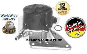 for citroen berlingo c15 dispatch xsara 1 9d 1998 new brake vacuum pump ebay. Black Bedroom Furniture Sets. Home Design Ideas