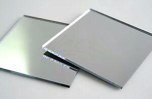 """1 12/"""" x 12/"""" x 1//8/"""" MIRROR Acrylic Sheet Cast Plastic Plexiglas Square Free S/&H"""