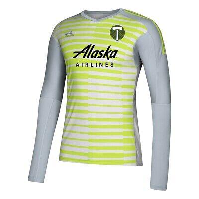 Portland Timbers MLS Adidas Men's Grey AdiPro Long Sleeve ...