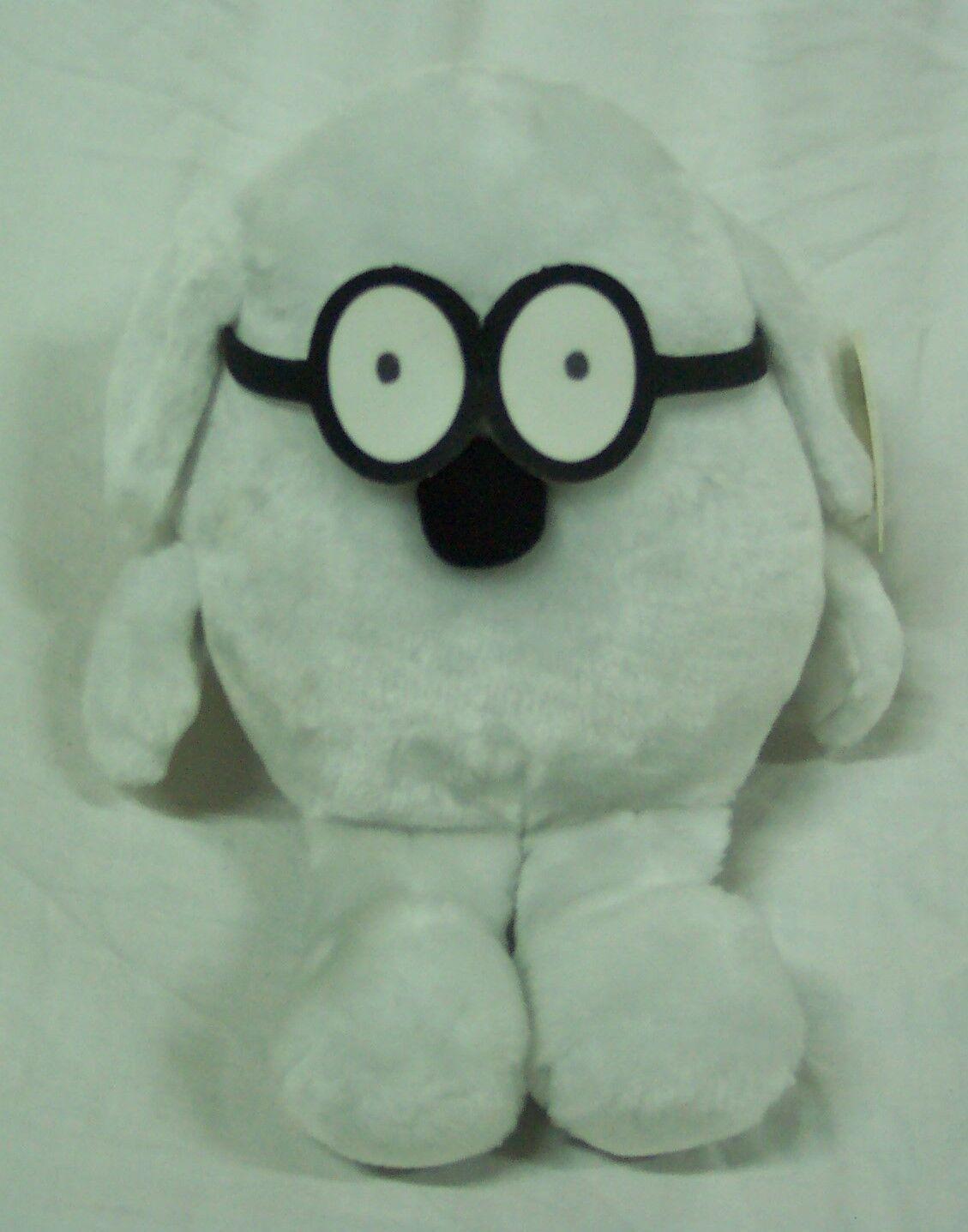 Dilbert Comic DOGBERT THE DOG 11  Plush STUFFED ANIMAL Toy NEW
