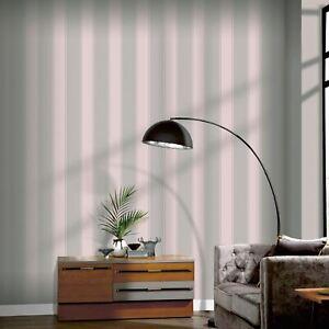 Rose-Sombre-Arthouse-Papier-Peint-Luxe-Rayure-910208-Metallique-Gris-Rose