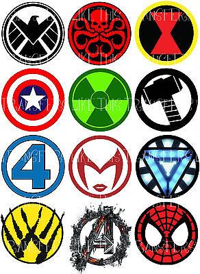 BIG BANG THEORY SHELDON LOGO IRON ON TRANSFER OR STICKER COMIC DC HEROES LOT