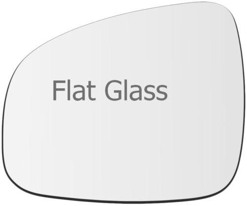 Wing mirror glass for Dacia Sandero II 2012-2017 Gauche Côté Passager